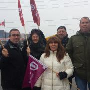 picket line Crown Holdings