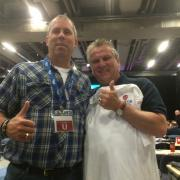 Mike Norman and Ken Lewenza CLC Conference